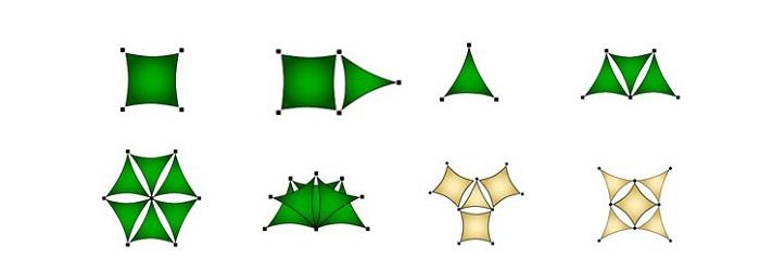 Những ý tưởng thiết kế dù cánh buồm đẹp